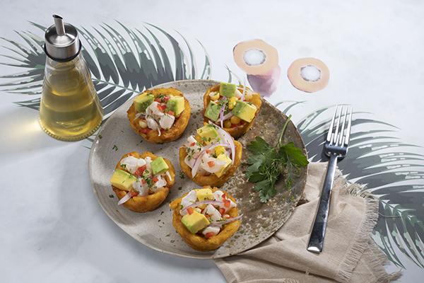 Recetas-aceite-palma-gastronomia-canasticas-patacon-rellenaas-ceviche-pescado