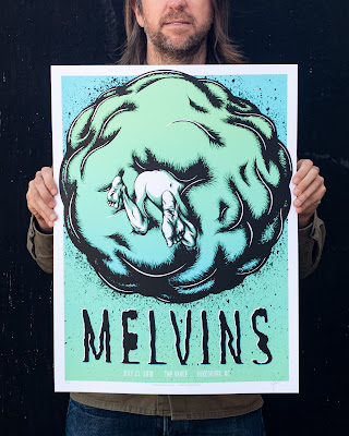 Melvins Poster scale