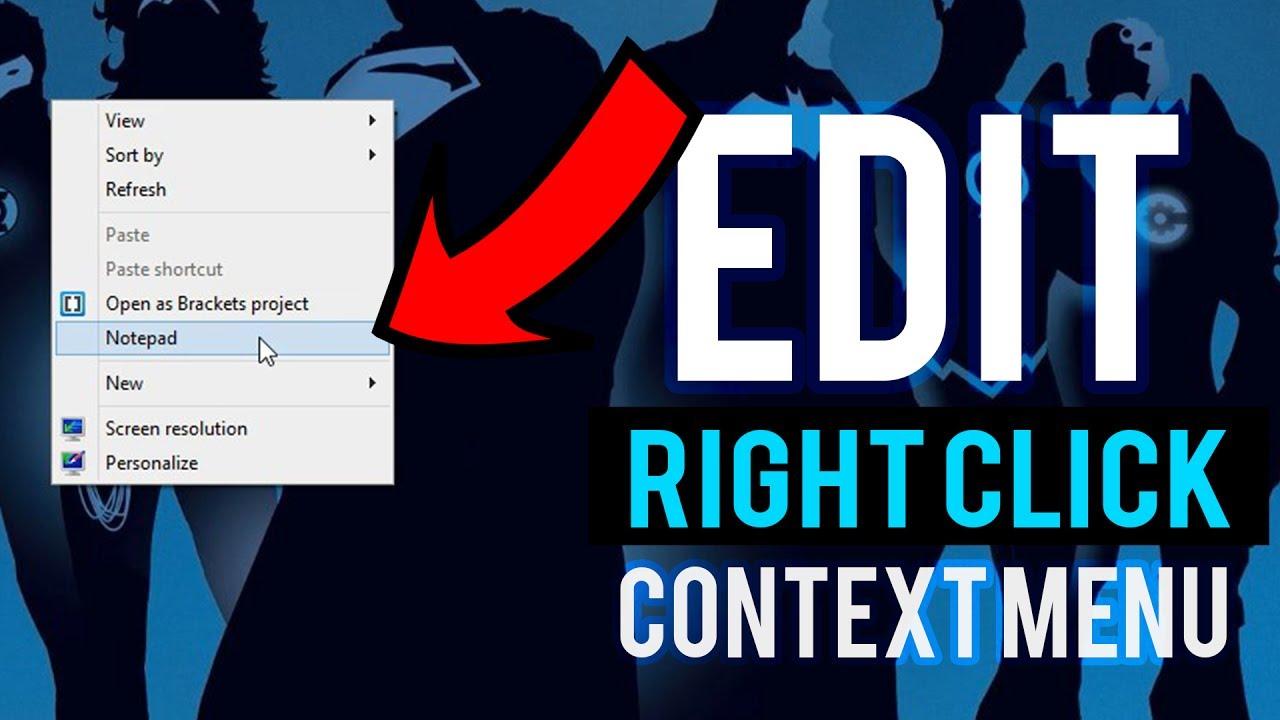 Thêm các ứng dụng vào chuột phải với Easy Context Menu