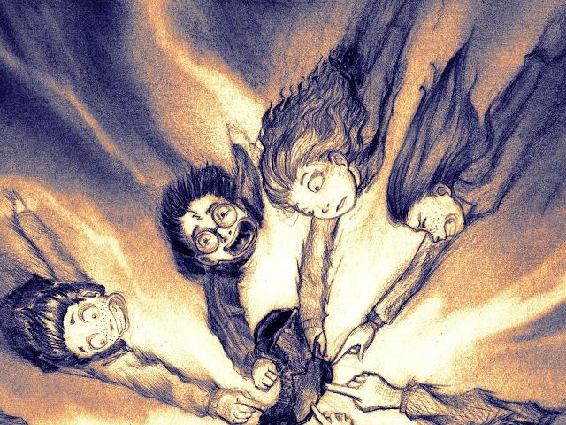Летекодът за световното първенство по куидич, фенарт по Хари Потър и огненият бокал
