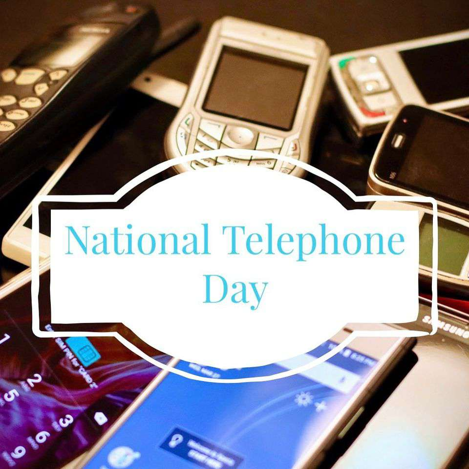 National Telephone Day Wishes Sweet Images