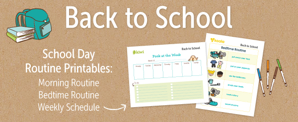 kiwico back to school printables