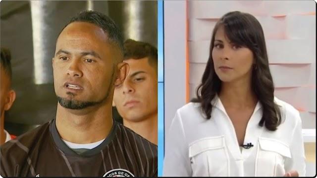 REPERCUSSÃO APÓS FALA DE APRESENTADORA FAZ TIME DESISTIR DO GOLEIRO BRUNO