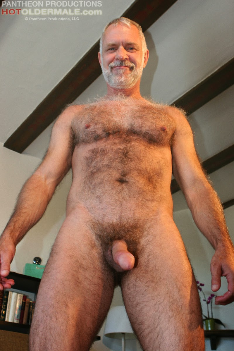 Sexy Daddy Allen Silver Jerks Off   Hairy Guys In Gay Porn-6717