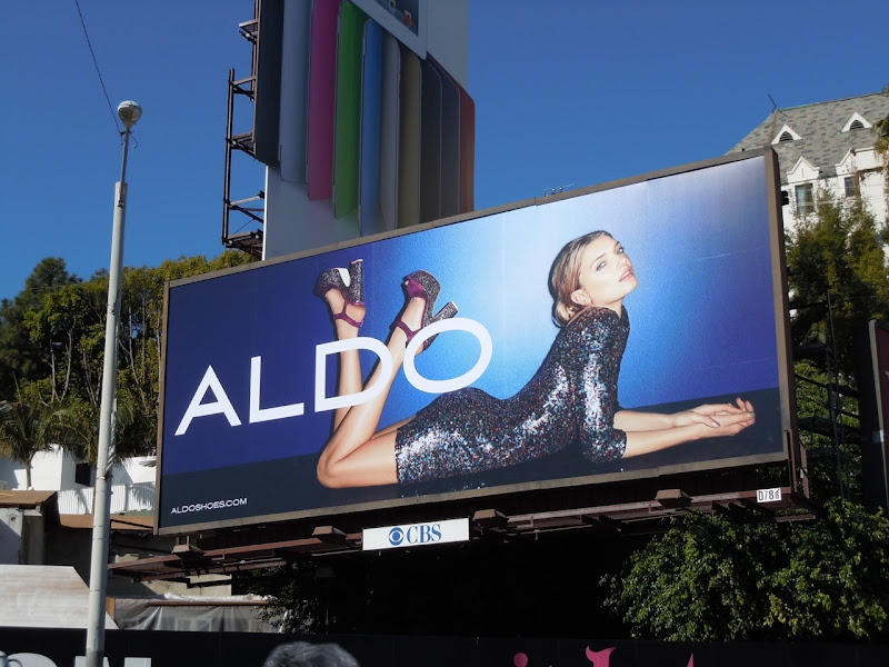 Aldo sequin dress billboard