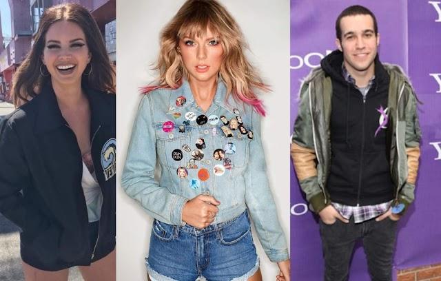 Em entrevista, Taylor Swift elogia Lana Del Rey e Pete Wentz de Fall Out Boy