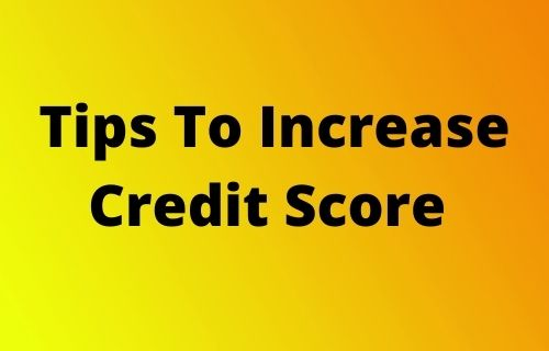 Tips To Increase Credit Score | Opt Out To Increase Credit Score