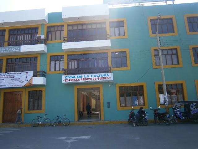 Casa de la cultura de Paijan