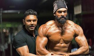 Rana Daggubaati has developed the body for 'Bahubali 2'