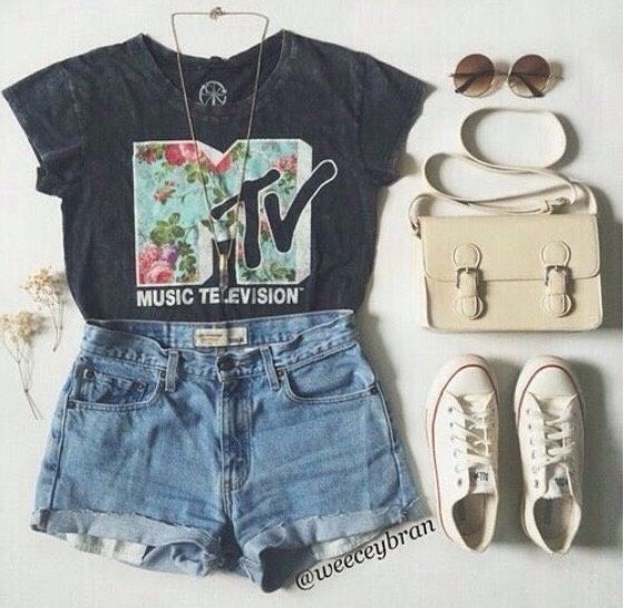 Cute Girls Summer Outfit Ideas