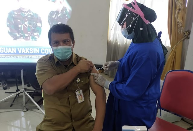 Vaksin Tahap II Untuk 426 ASN Pemkab Inhu