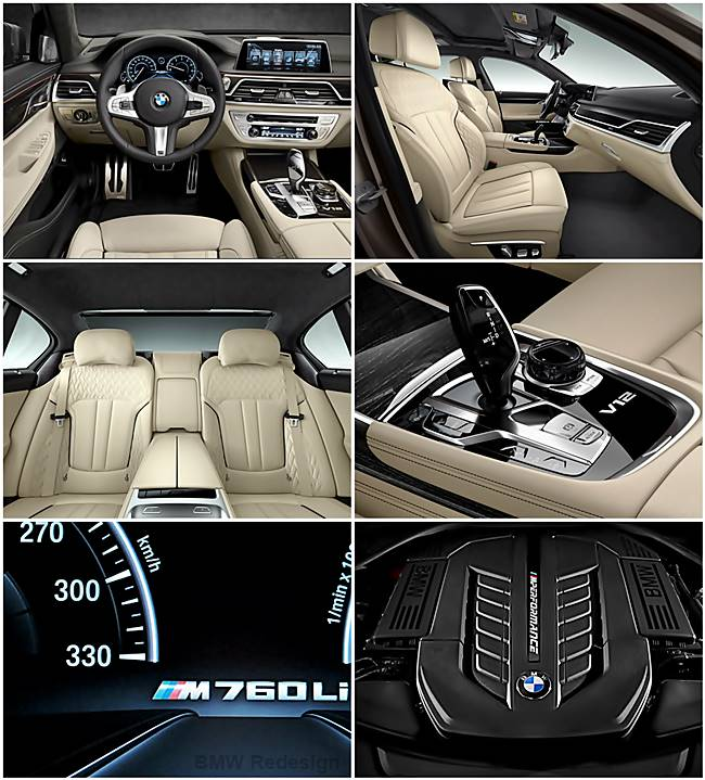 BMW M760Li xDrive: Comes with 600 HP V12