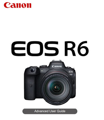 Canon EOS R6 Camera PDF User Guide / Manual Download