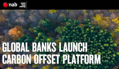 Global Banks Launch Carbon Offset Platform