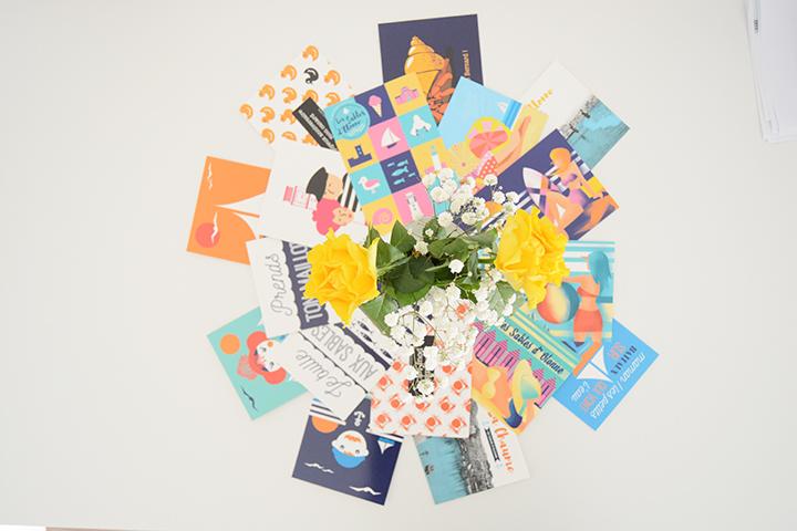 Cartes postales Le Beau Bazar Marceline communication