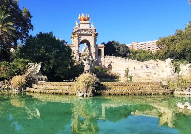 Barcelona, Spain, Over The Apple Tree