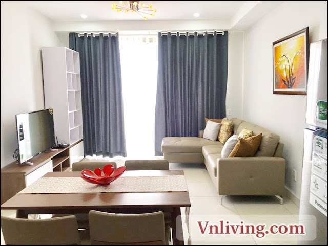 1 Bedroom apartment for rent in Master Thao Dien highfloor fully furniture