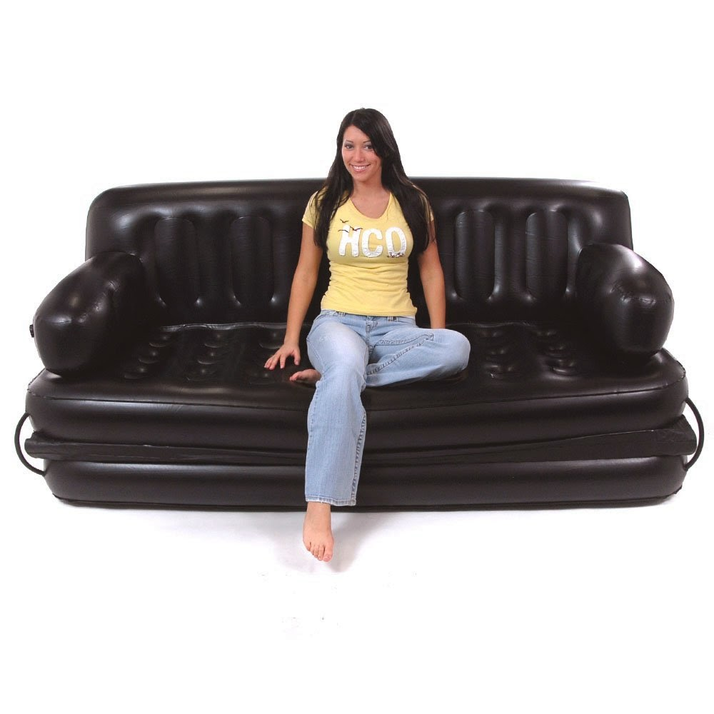 Inflatable couch inflatable couch bed Couch and bed