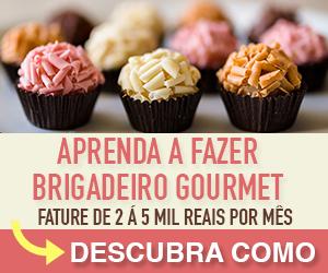 Receita de Brigadeiro Gourmet