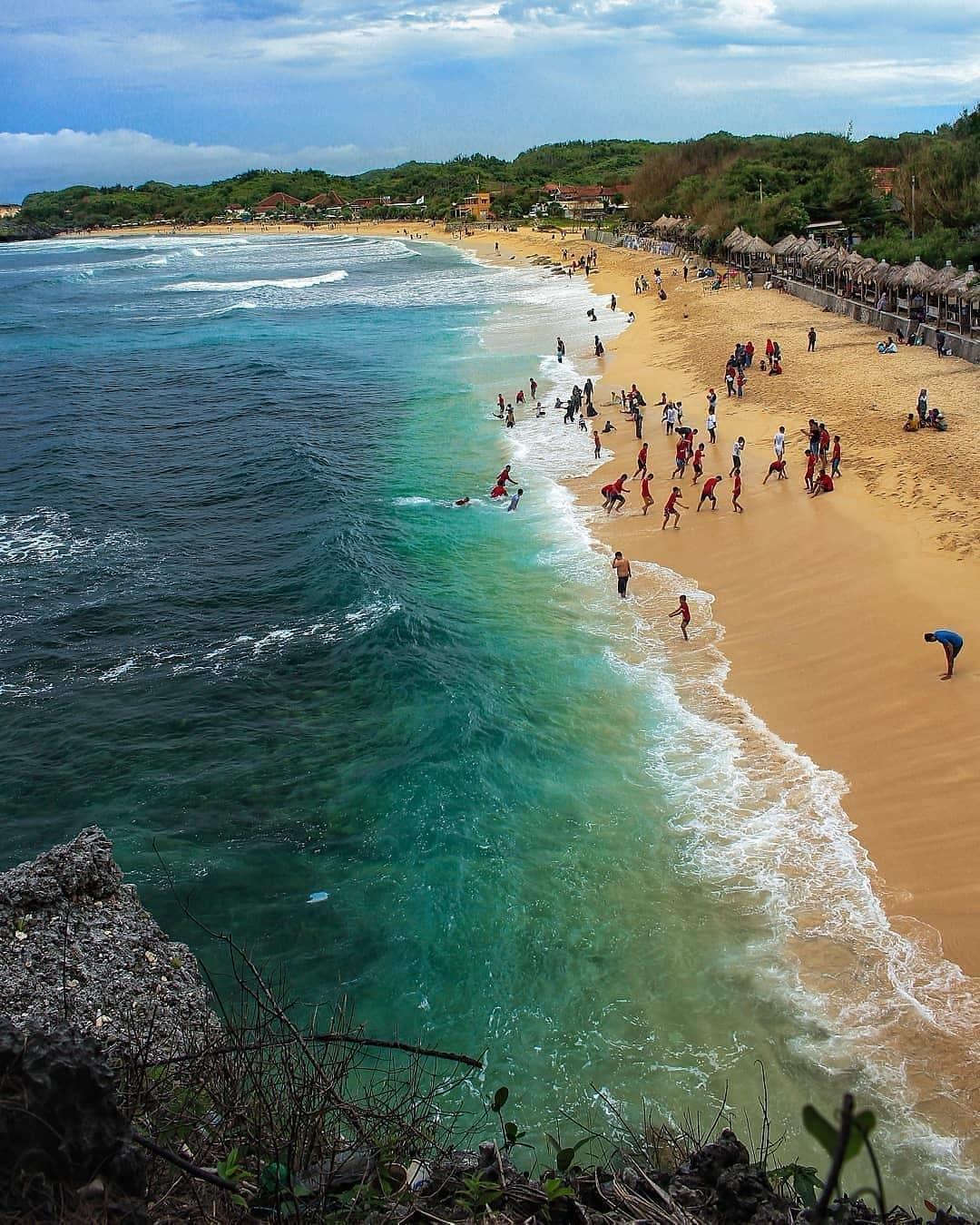 Harga Tiket Masuk dan Akses Ke Pantai Slili Gunung Kidul Jogja