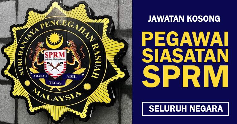 Peluang Kerjaya di Suruhanjaya Pencegahan Rasuah Malaysia
