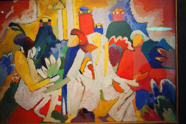 Musée Marmottan Monet - L'orient des peintre - Oriental - Kandinsky