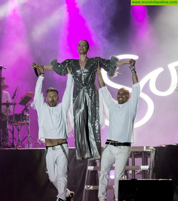 La potente voz de la española Soraya Arnelas también puso su nota de calidad en el Isla Bonita Festival
