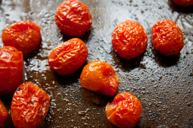 Roasted Cherry Tomatoes || A Less Processed Life