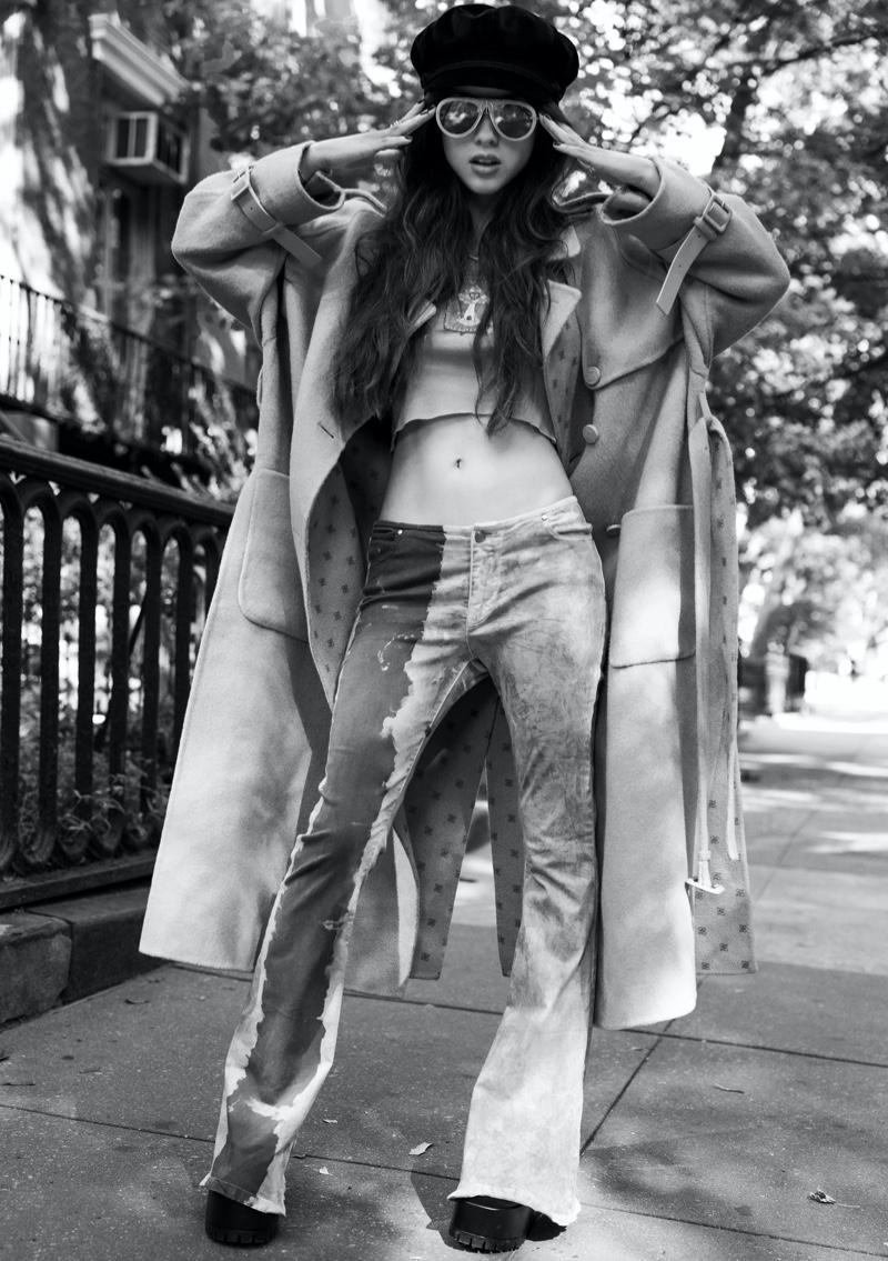 Olivia Rodrigo wears a retro look for the cover story