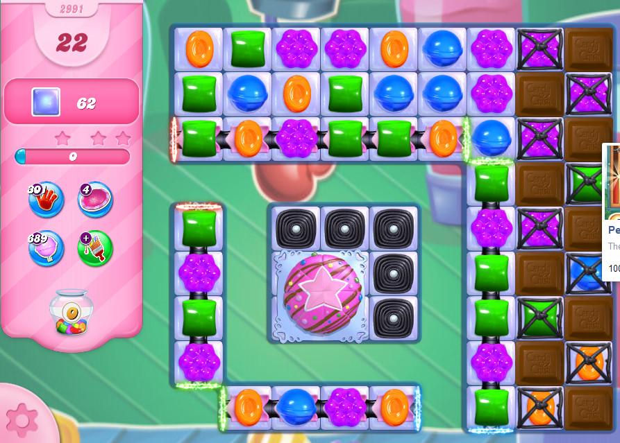 Candy Crush Saga level 2991