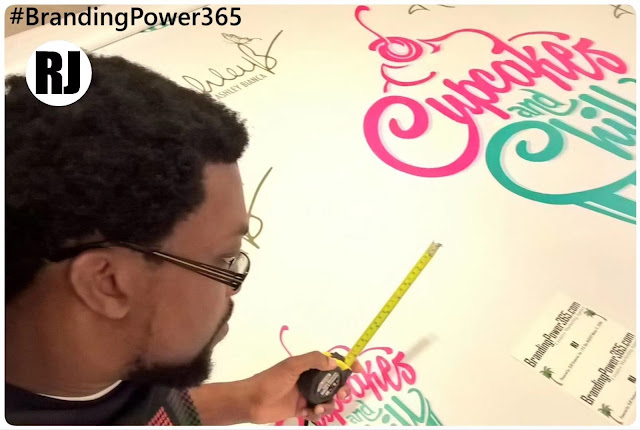 8' 8' Step and Repeat for Ashley Bianca. High Quality Backdrop by BrandingPower365.com (#BrandingPower365)