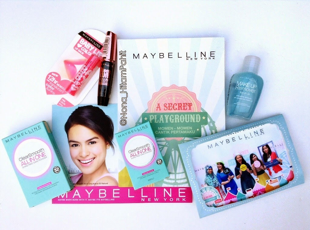 Maybelline New York Indonesia, Clear Smooth All in One, Hypercurl Mascara, Eva Celia