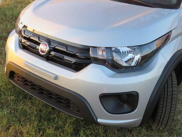 Fiat Mobi Way - Prata