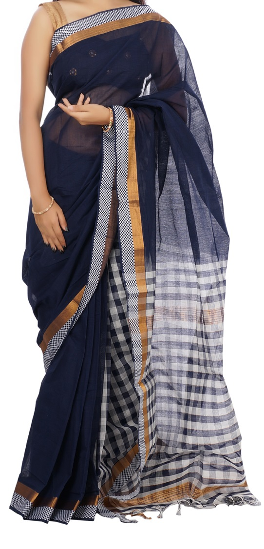 http://devihandlooms.com/shop/product/navy-blue-half-and-half-mangalagiri-handloom-cotton-saree/