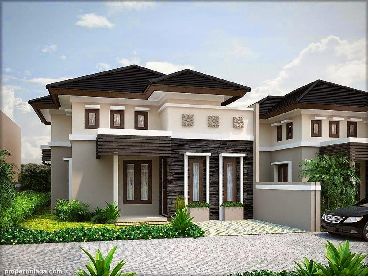 Rumah minimalis elegan dan mewah home design