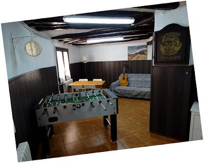 Sala de juegos Apartamento rural Sierra de Guara