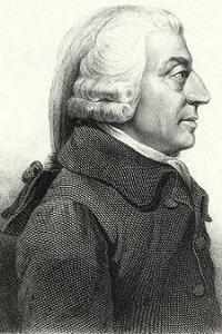 Adam Smith salah satu tokoh pencentus teori pertumbuhan aliran klasik
