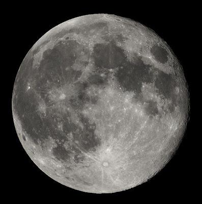 ¡En la luna!
