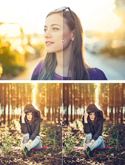 اضافة ضوء الشمس إلى الصور