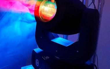 Light4Me Venom Spot - test głowicy ruchomej LED 150W