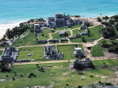 Ruins of Tulum, Ancient Coastal Maya City