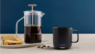 What's the difference between temperature control Ember ceramic mug and Ember copper travel mug
