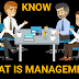 KNOW THE MANAGEMENT DEFINITION AND OBJECTIVES
