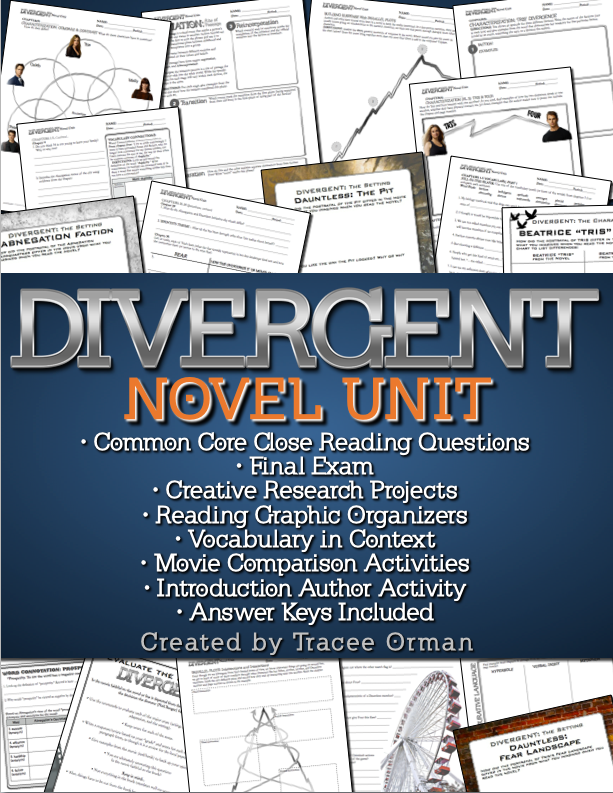 Divergent Novel Unit for Teachers