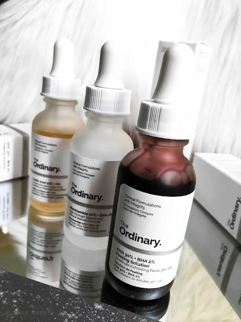 rotina de pele produtos the ordinary deciem