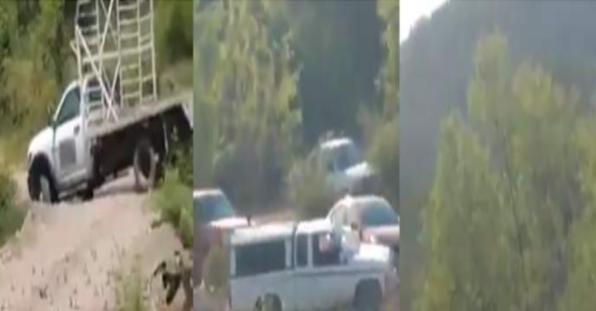 Cárteles Unidos débiles, sin alianzas y con miedo al CJNG bloquean caminos en Aguililla; Michoacán