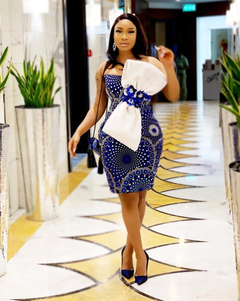 Beautiful Ankara Short Gown In 2019