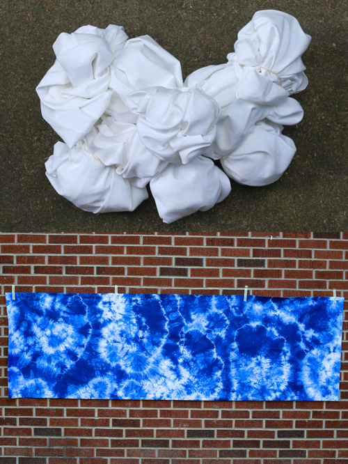 Shibori Indigo Dyeing Tutorial - In Color Order