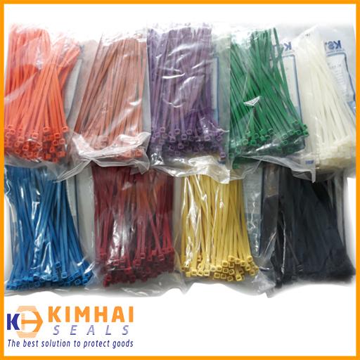 Dây rút nhựa màu có nhiều kích cỡ