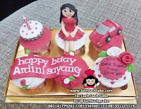 Cupcake Cantik Untuk Anak Perempuan